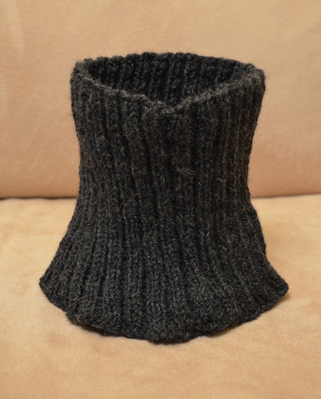 Knitting Project Neck Warmer