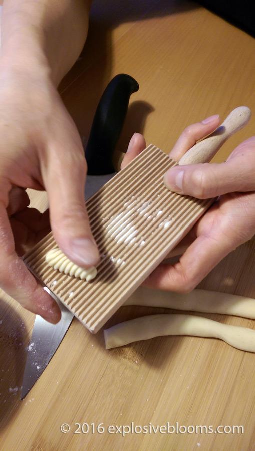 making-cavatelli