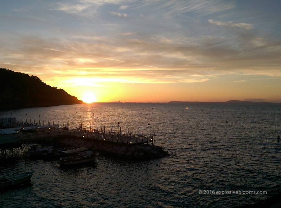 sunset-sorrento-harbour