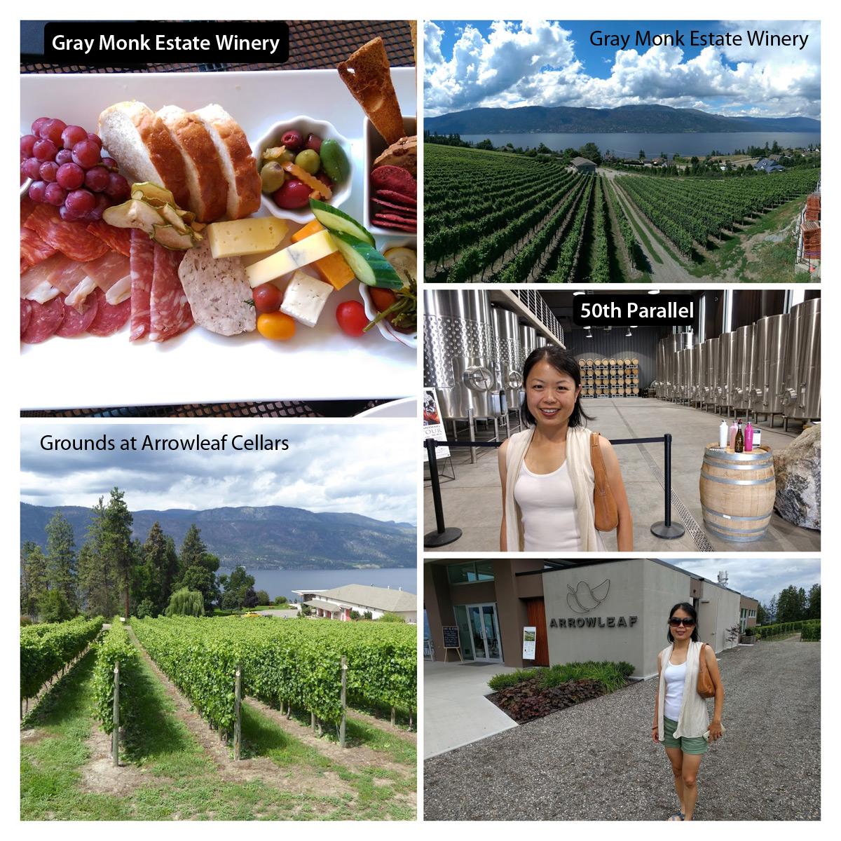 BC Lake District wineries