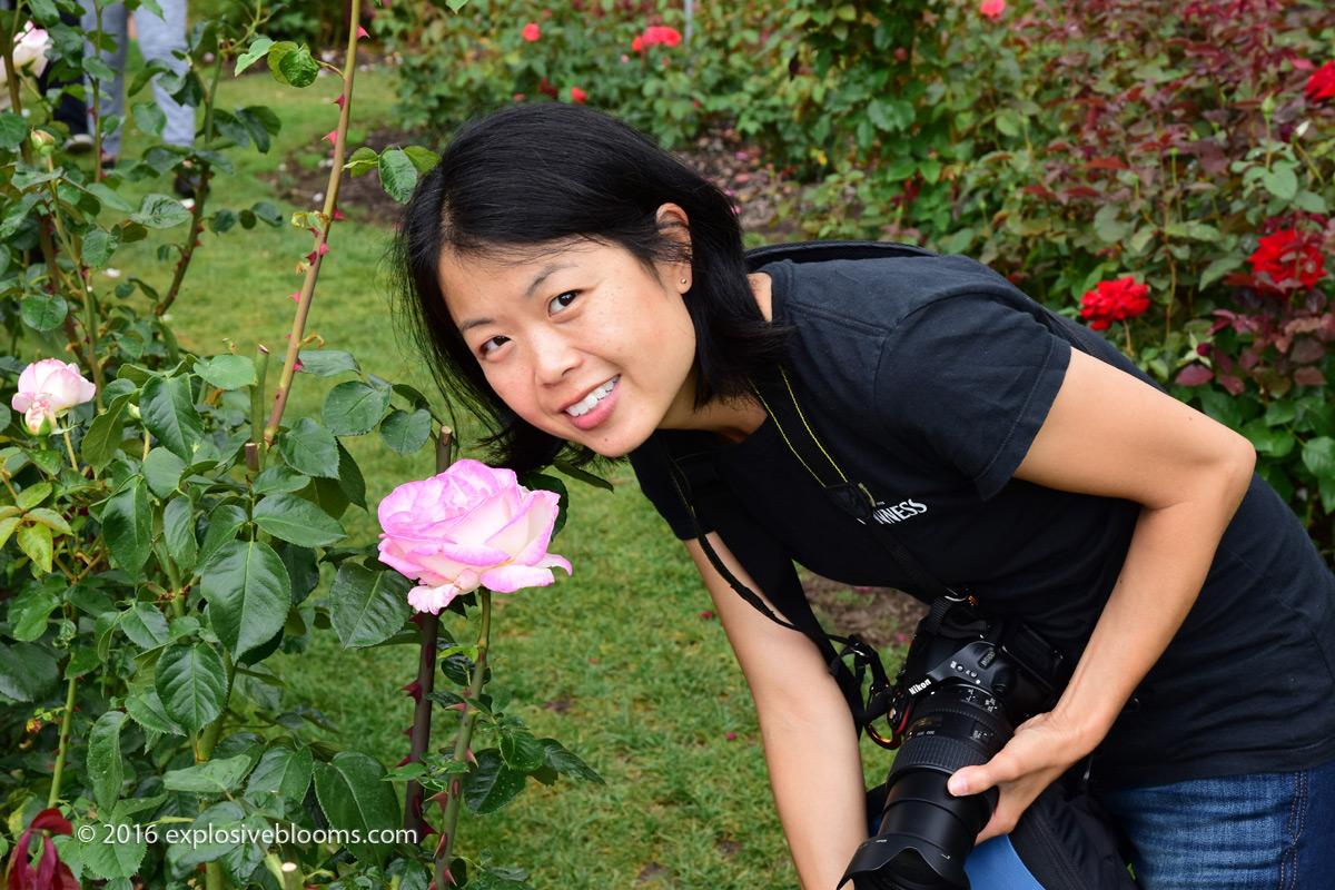 RTG smell the roses