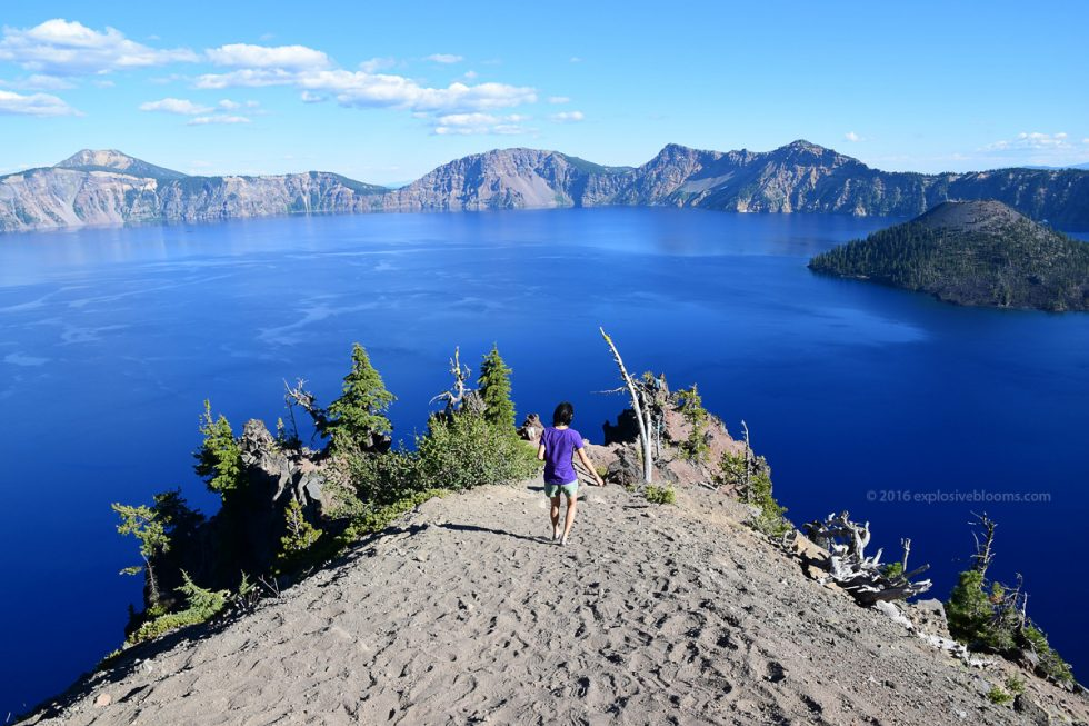 beauty of crater lake