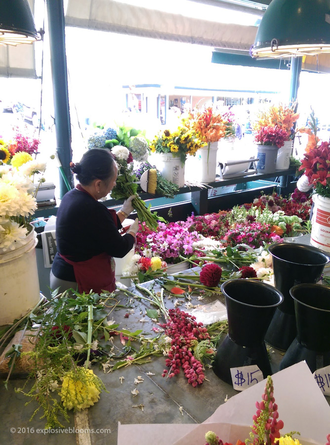 Pike Place floral arrangements