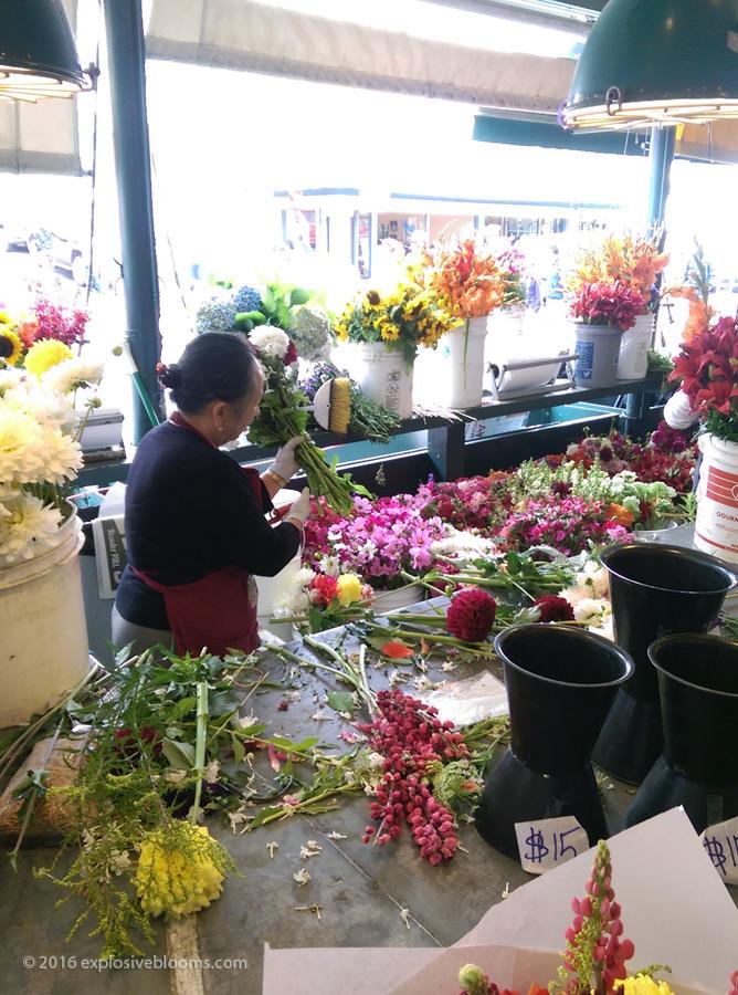 Pike Place floral arrangements