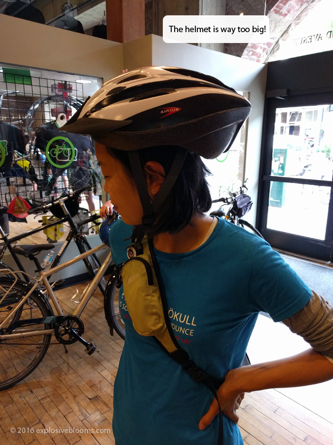 suiting up at pedal bike tours