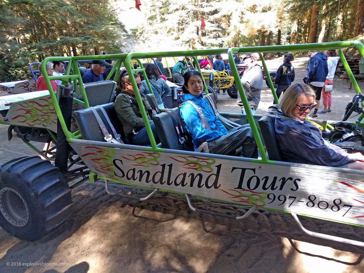 sandland tours getting started