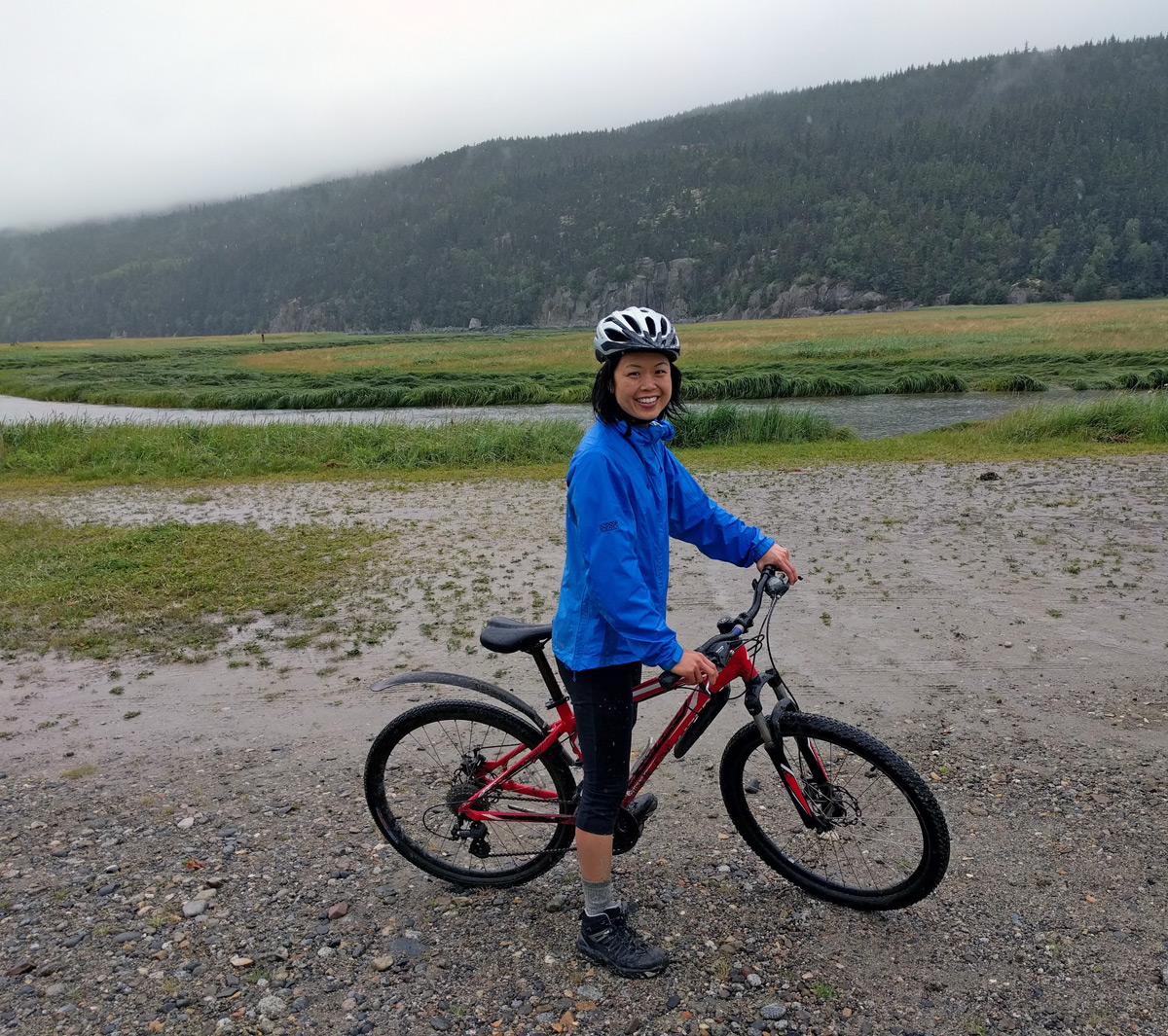 cycling in dyea alaska