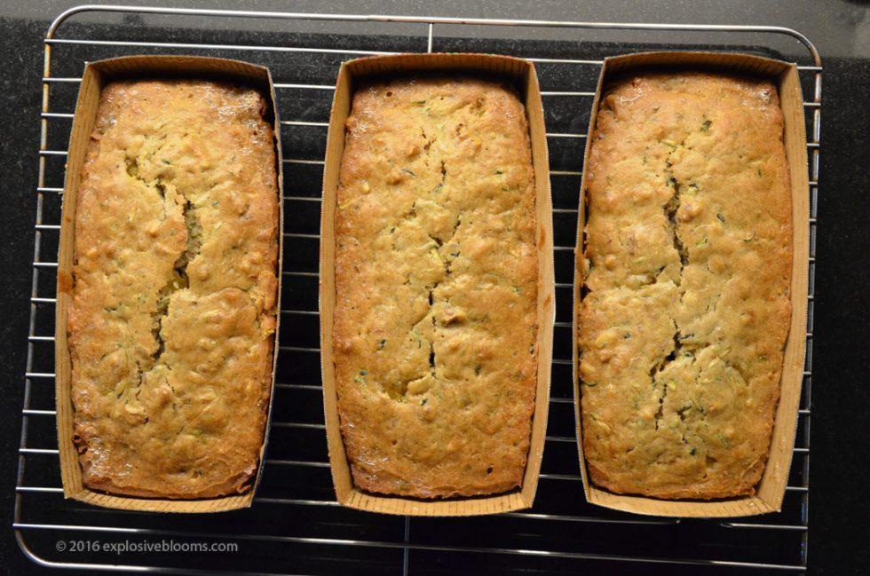2016 Christmas Bake Zucchini Bread
