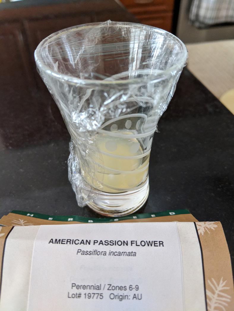 Lemon juice soak